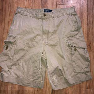 Polo Ralph Lauren Men's Shorts Size 36 Cargo Khaki